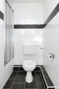 Toilette der Ferienwohnung Lulu Meinders